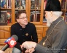 Митрополит Владимир наградил актера Сергея Маковецкого орденом УПЦ