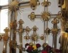 Украинский священник подарил Иерусалимской Церкви 45 накупольных крестов