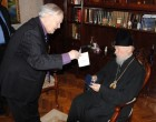 Блаженнейший Митрополит Владимир награжден почетным знаком «За подвижничество в культуре»