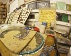В Софии Киевской открыли мозаичную мастерскую