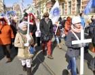 Марш против абортов прошел в Праге
