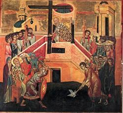 Церковь празднует обретение Честного Креста равноапостольной царицей Еленой